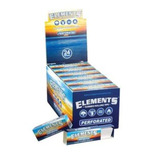 Elements Perforated Rolling Tips - Gummed