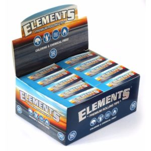 Elements Perforated Rolling Tips - Ungummed
