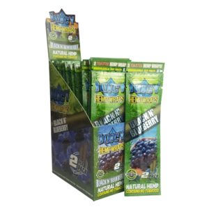 Juicy Jay's Hemp Wraps - Black N Blueberry