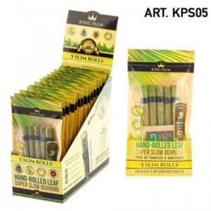 King Palm Slim Pre-Rolled Palm Leaf Wraps (5 Pack)