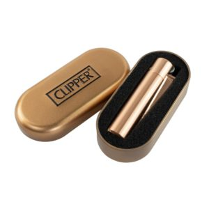 Metal Rose Gold Clipper Lighter