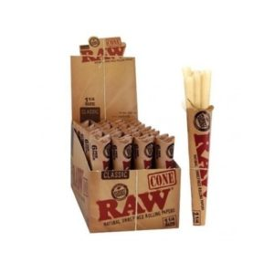 "RAW Classic Pre-Rolled Cones - 1 1/4"" (6 Pack)"