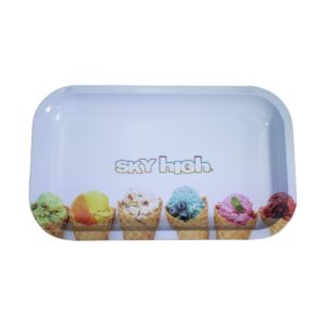 Sky High Rolling Tray - Ice Cream