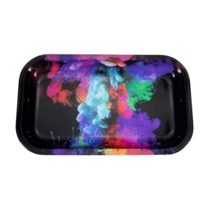Sky High Rolling Tray - Rainbow Ink