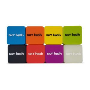 Sky High Silicone Cube