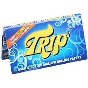 Trip 2 Mini Clear Rolling Papers - 1 1/4""