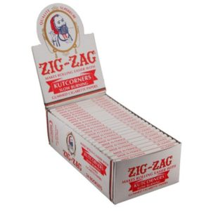 Zig-Zag Kutcorners Slow Burning Rolling Papers - Single Wide