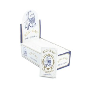 Zig-Zag Original White Rolling Papers - Single Wide